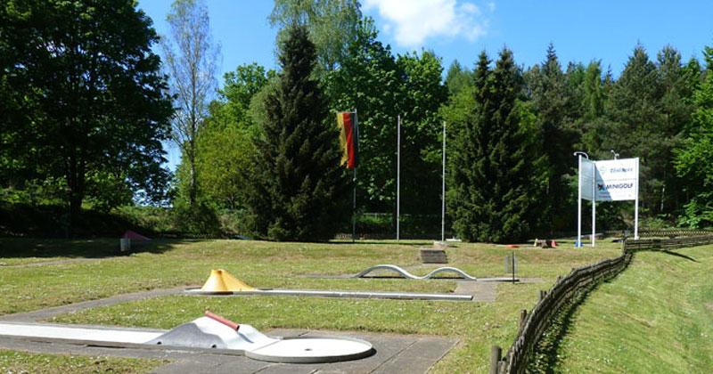 Minigolf im Ferienpark Bad Arolsen