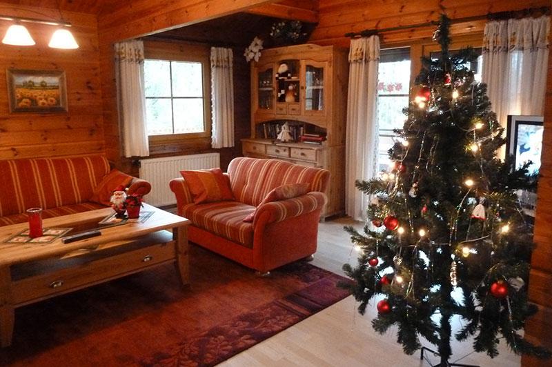 Das Ferienhaus zur Weihnachtszeit